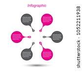 info graphic design template.... | Shutterstock .eps vector #1052211938
