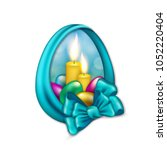 elegant template for design of... | Shutterstock . vector #1052220404