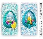 set of elegant templatee for... | Shutterstock . vector #1052220428