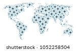 continent atlas concept made of ...   Shutterstock .eps vector #1052258504