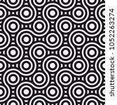 vector seamless pattern.... | Shutterstock .eps vector #1052263274