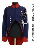 Ancient military coat of a Russian 18th century officer