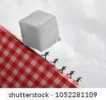 sugar health danger as a... | Shutterstock . vector #1052281109