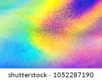 rainbow leather real... | Shutterstock . vector #1052287190