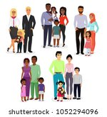vector illustration set of... | Shutterstock .eps vector #1052294096