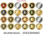 24 in 1 set of dogecoin  doge   ...