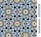 arabesque seamless pattern in... | Shutterstock .eps vector #105231026