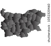 bulgaria map black gradient...   Shutterstock .eps vector #1052320460