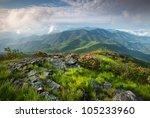 Majestic Blue Ridge Mountain...