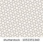 abstract geometric fashion... | Shutterstock . vector #1052351360