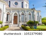 nativity of our lady cathedral... | Shutterstock . vector #1052379080