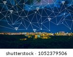 connection technologies and... | Shutterstock . vector #1052379506