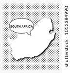 pop art map of south africa   Shutterstock .eps vector #1052384990