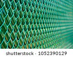 perspective view of a green...   Shutterstock . vector #1052390129