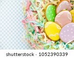 sweets for celebrate easter.... | Shutterstock . vector #1052390339