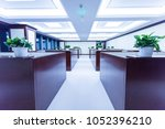 interior of modern style office | Shutterstock . vector #1052396210