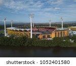 metricon stadium ready to... | Shutterstock . vector #1052401580