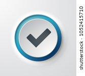 validation web icon | Shutterstock .eps vector #1052415710