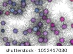 light colored vector texture... | Shutterstock .eps vector #1052417030