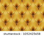 vector eps 10 genuine leather... | Shutterstock .eps vector #1052425658