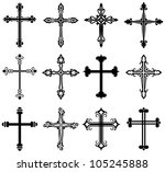 Religious Cross Design...