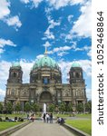 Small photo of Berlin/Germany-: Berlin Cathedral (Evangelical Supreme Parish and Collegiate Church) 2016