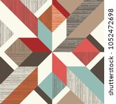 abstract seamless geometric...   Shutterstock .eps vector #1052472698