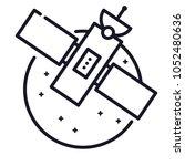 interstellar space radar...   Shutterstock .eps vector #1052480636