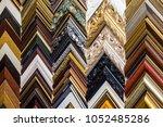 samples of classic wooden... | Shutterstock . vector #1052485286