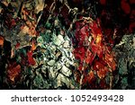 abstract retro grunge... | Shutterstock . vector #1052493428