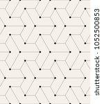 vector seamless pattern. modern ...   Shutterstock .eps vector #1052500853