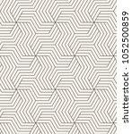 vector seamless pattern. modern ... | Shutterstock .eps vector #1052500859
