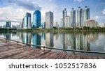 bangkok city   cityscape...   Shutterstock . vector #1052517836
