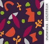abstract artwork  vector... | Shutterstock .eps vector #1052555114