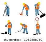 vector illustration of set of... | Shutterstock .eps vector #1052558750