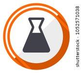 laboratory flat design vector... | Shutterstock .eps vector #1052571038