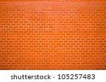 Decorative Red Brick Wall...