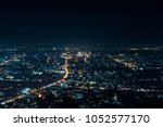 night view shot at view point | Shutterstock . vector #1052577170