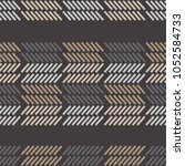 seamless geometric pattern. the ... | Shutterstock .eps vector #1052584733