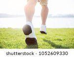 outdoor cross country running... | Shutterstock . vector #1052609330