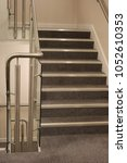 Carpeted Staircase In Neutral...