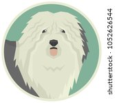 dog collection old english... | Shutterstock .eps vector #1052626544