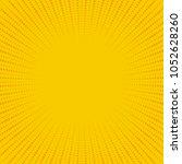 yellow and orange retro comic...   Shutterstock .eps vector #1052628260