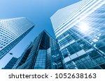 london business district | Shutterstock . vector #1052638163