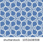decorative seamless geometric... | Shutterstock .eps vector #1052638508
