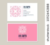 logo design with template... | Shutterstock .eps vector #1052642888