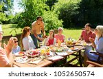 leisure  holidays and people... | Shutterstock . vector #1052650574