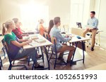 education  school and people... | Shutterstock . vector #1052651993
