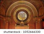 prague  czech republic  ... | Shutterstock . vector #1052666330