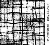 grunge halftone black and white ... | Shutterstock .eps vector #1052681414